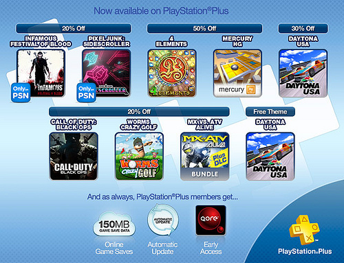 PS Plus Now Available Oct 25 2011 Image