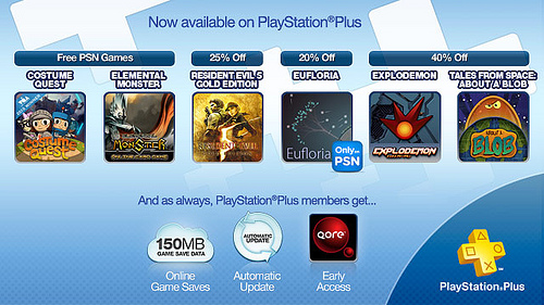 PS Plus October 4 2011 Image