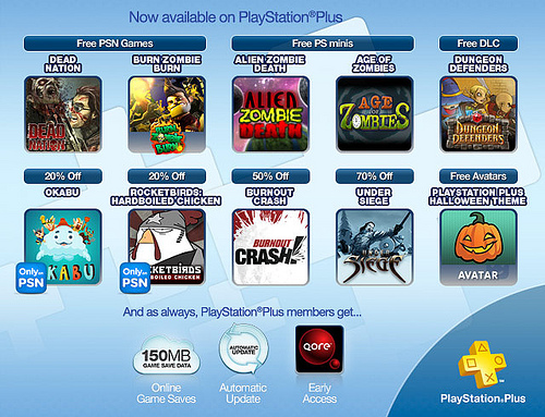 PlayStation Plus October 18 2011 Image