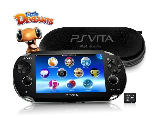 Playstation Vita First Edition Bundle Image