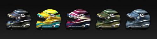 Racing helmet Safari 5 colors Image