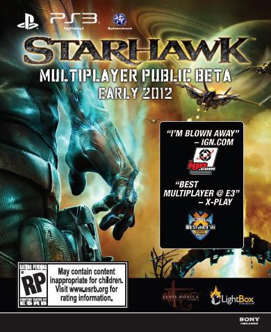 Starhawk Beta Voucher Image