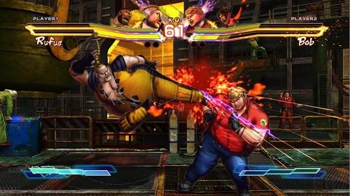 Street Fighter X Tekken Rufus Image