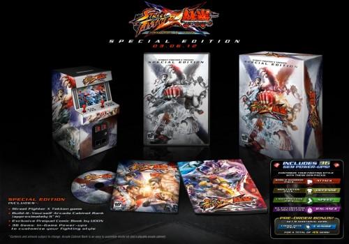 Street Fighter X Tekken Sp Ed Image