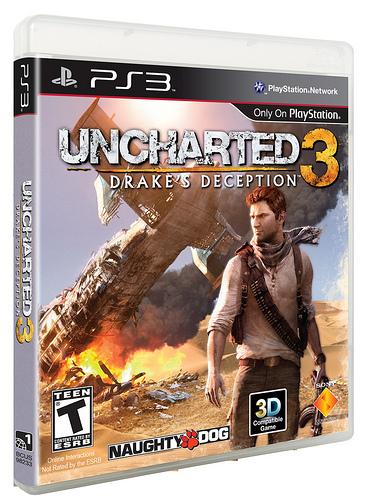 Uncharted 3 Final Box Art