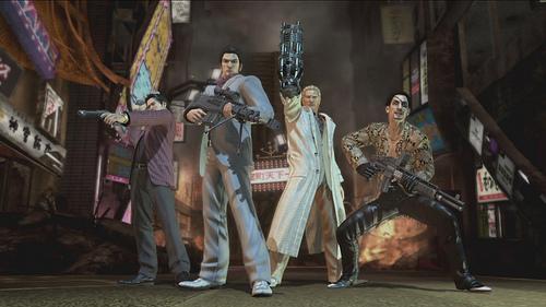 Yakuza Dead Souls Image