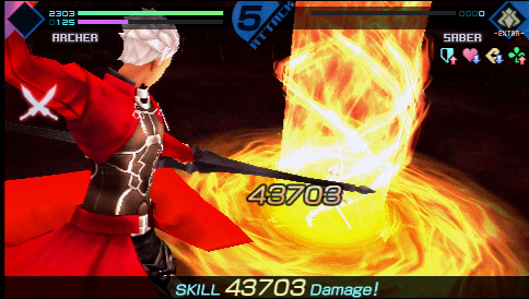 Fate Extra PSP Image