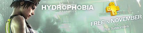 PS Plus Hydrophobia Free Banner