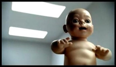 PS3 Baby Commercial Screencap