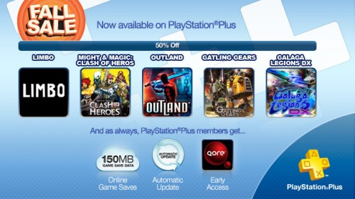 PlayStation Plus 11 22 2011 Image