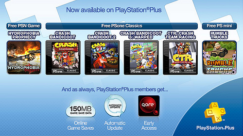 PlayStation Plus Update November 1, 2011