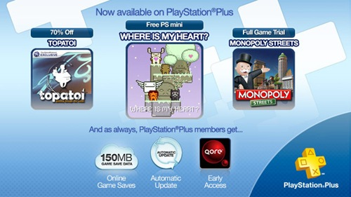 PlayStation Plus November 8 2011 Image