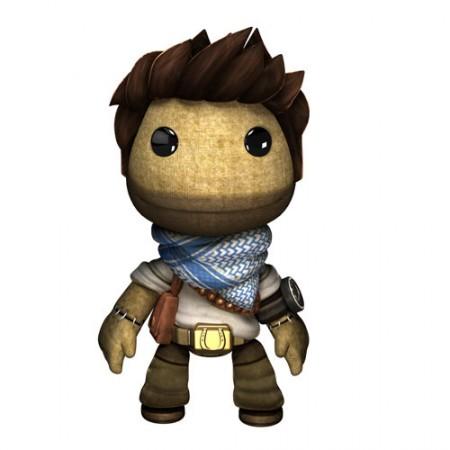 Uncharted 3 Sackboy Nathan Drake Costume Image