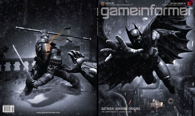 Arkham Origins game informer