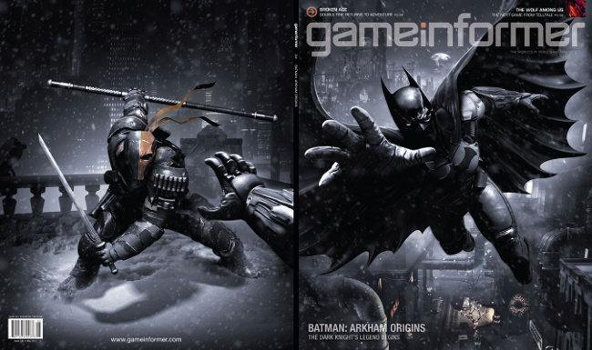 Arkham Origins game informer