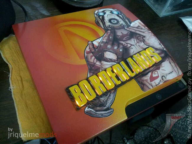 Borderlands PS3 Mod