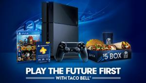 PlayStation 4 Taco Bell image