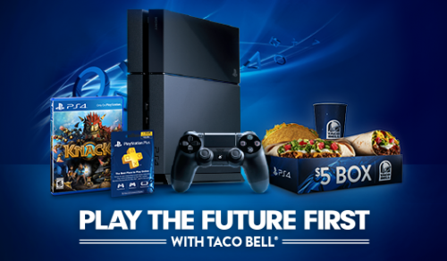 PlayStation 4 Taco Bell image