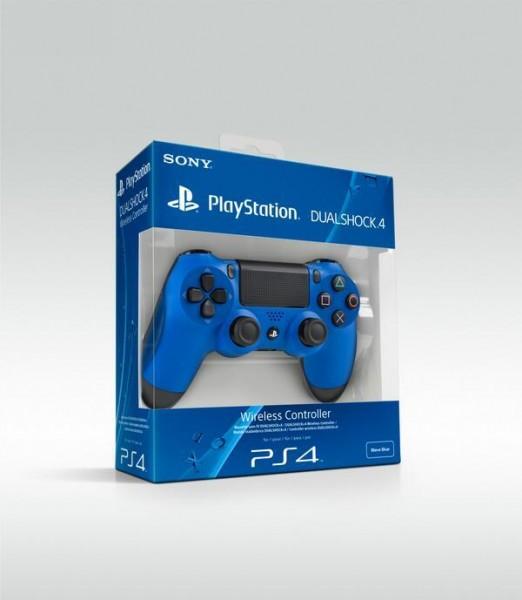 DualShock 4 blue box