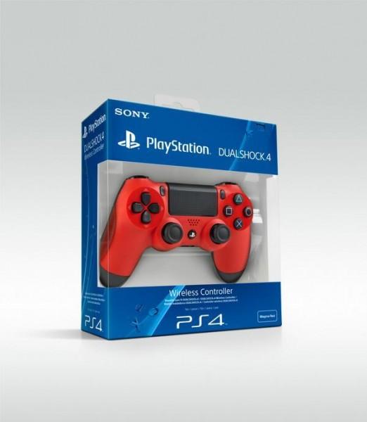 DualShock 4 red box