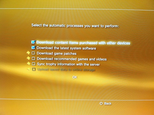 PlayStation 3 System Software Update v4.50 image 1