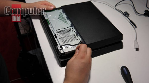 PS4 hard drive replacement image