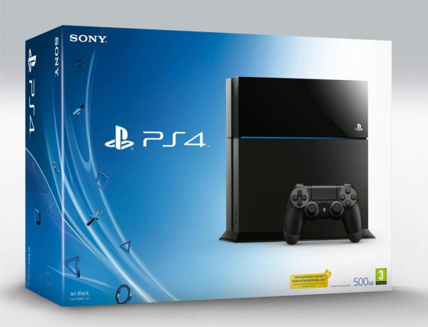 PlayStation 4 Console Box Package
