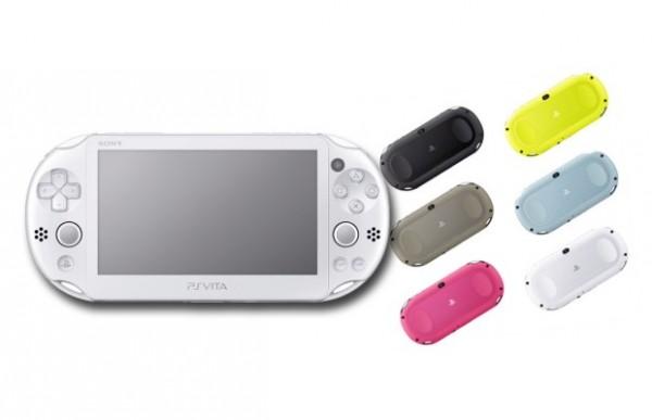 PlayStation Vita 2000 colors image
