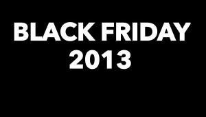 Black Friday 2013 logo by Bernie Mota