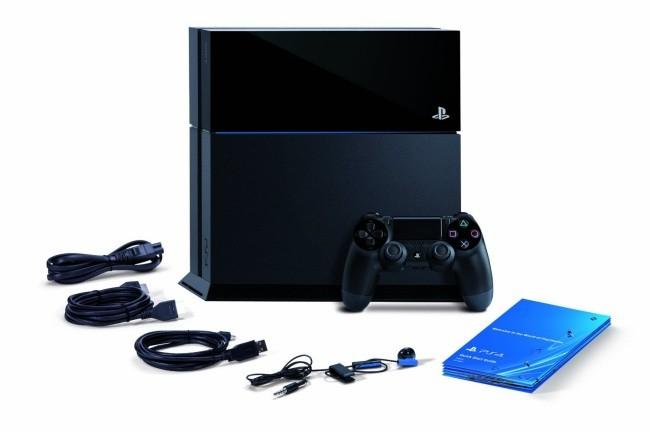 PS4 out of the box