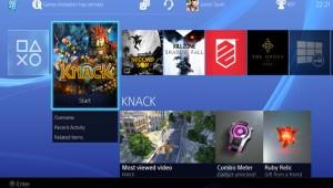 PlayStation 4 OS UI image