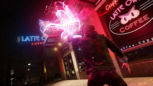 inFamous Second Son PS4 Neon power image