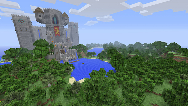 Minecraft PS3 version image 2