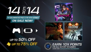 PlayStation Network's 14 For '14 Sale image