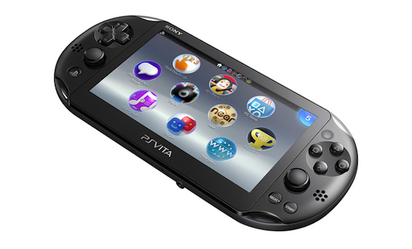 PlayStation Vita 2000 slim back image