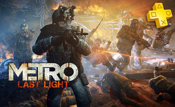 Metro Last Light PS3 logo image