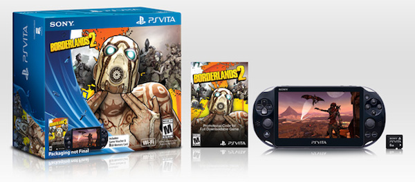 PS Vita 2000 Borderlands 2 Bundle image