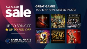 PlayStation 3 Back to 2013 sale