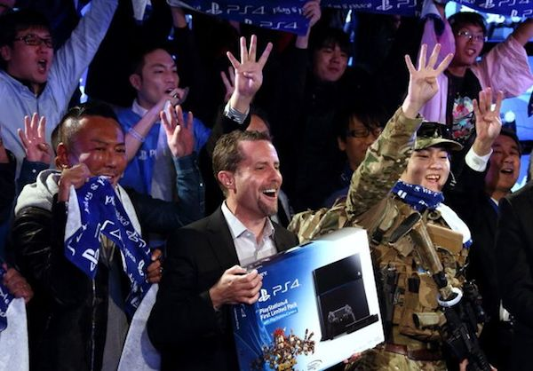 PlayStation 4 launch Andrew House