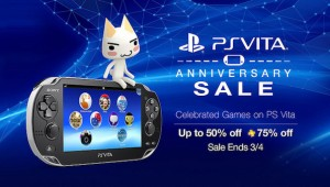 PlayStation Vita 2nd Anniversary sale
