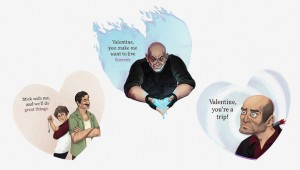 Valentines Day greetings Naughty Dog image