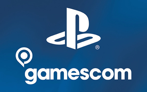 Sony Gamescom PlayStation logo