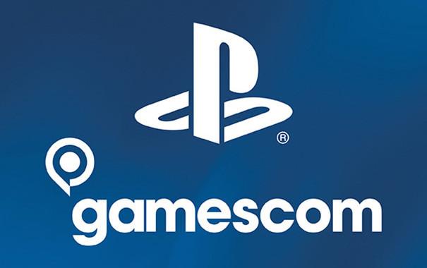Sony Gamescom PlayStation logo