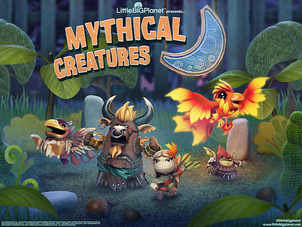 LittleBigPlanet 3 DLC Mythical Creatures costumes image