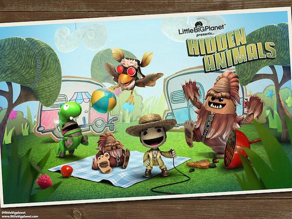 LittleBigPlanet 3 DLC costumes Hidden Animals image