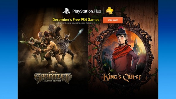 PlayStation Plus December 2015